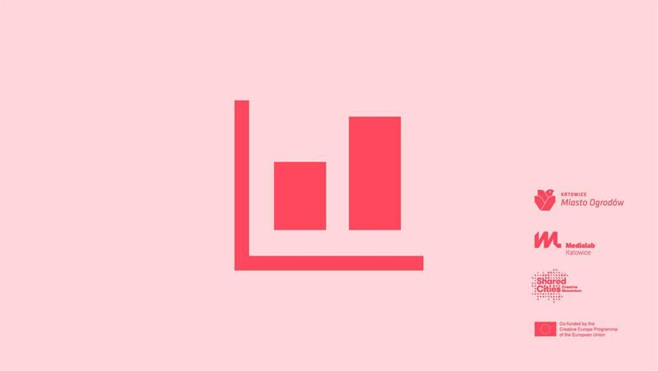 logo warsztatów MediaLab Katowice do warsztatów dotyczących wizualizacji danych