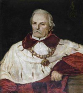 Józef Łepkowski, mal. Ludwik Łepkowski, 1894 r., kolekcja portretów profesorskich Muzeum UJ, fot. Janusz Kozina, Muzeum UJ.