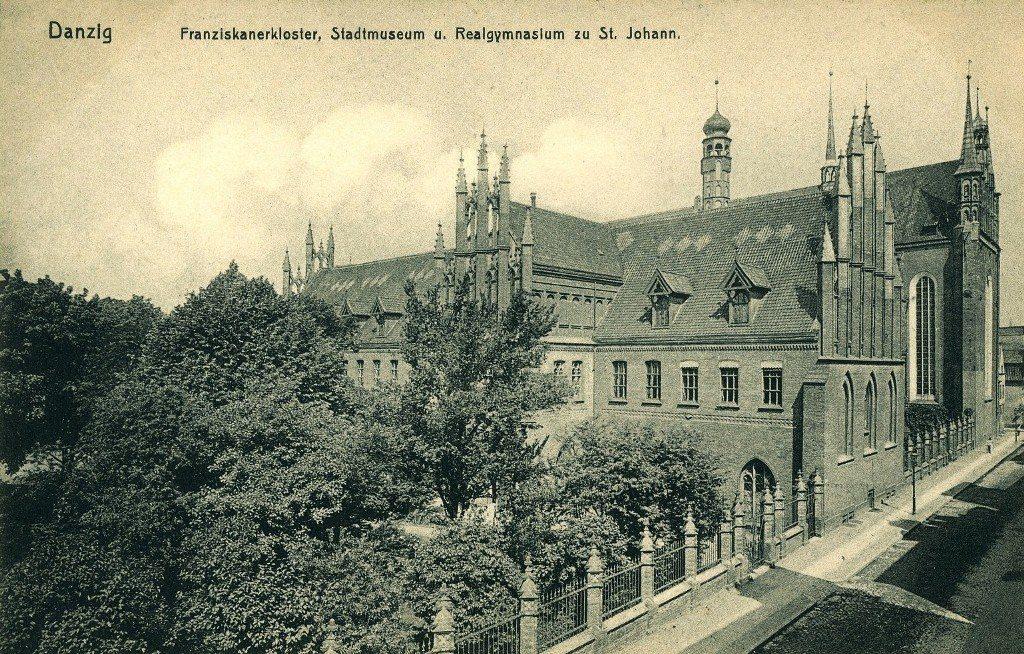 Dawny budynek pofranciszkański w Gdańsku